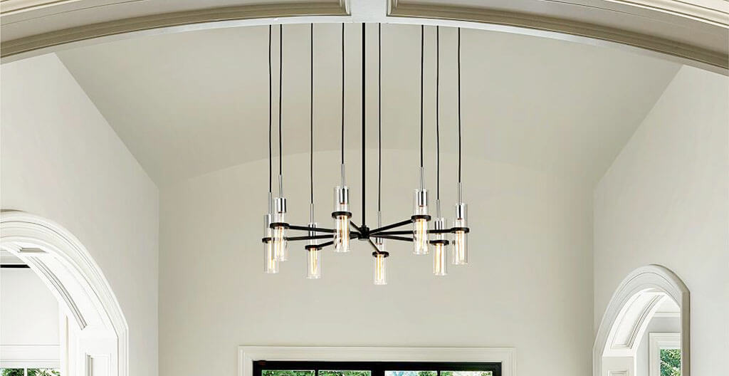 Best Light Fixtures for Vaulted Ceiling